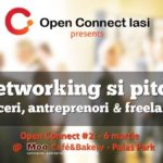OPEN CONNECT – networking si pitching @ Moo Cafe Palas